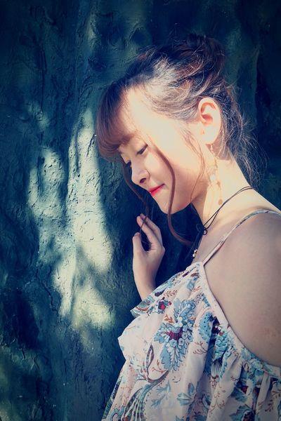 Teenager Human Body Part Portrait Lifestyles Smiling Close-up Beauty Tree Feeling Model Thankyou My Model - TaiPo Lin Vilage Hong Kong