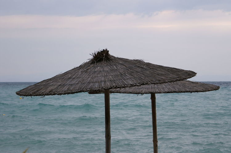 Parasol Beach Beachphotography Greece GREECE ♥♥ Halkidiki,Greece Summer Summer ☀ Summer Holidays Summer Memories 🌄 Summer Vibes Summertime Sky