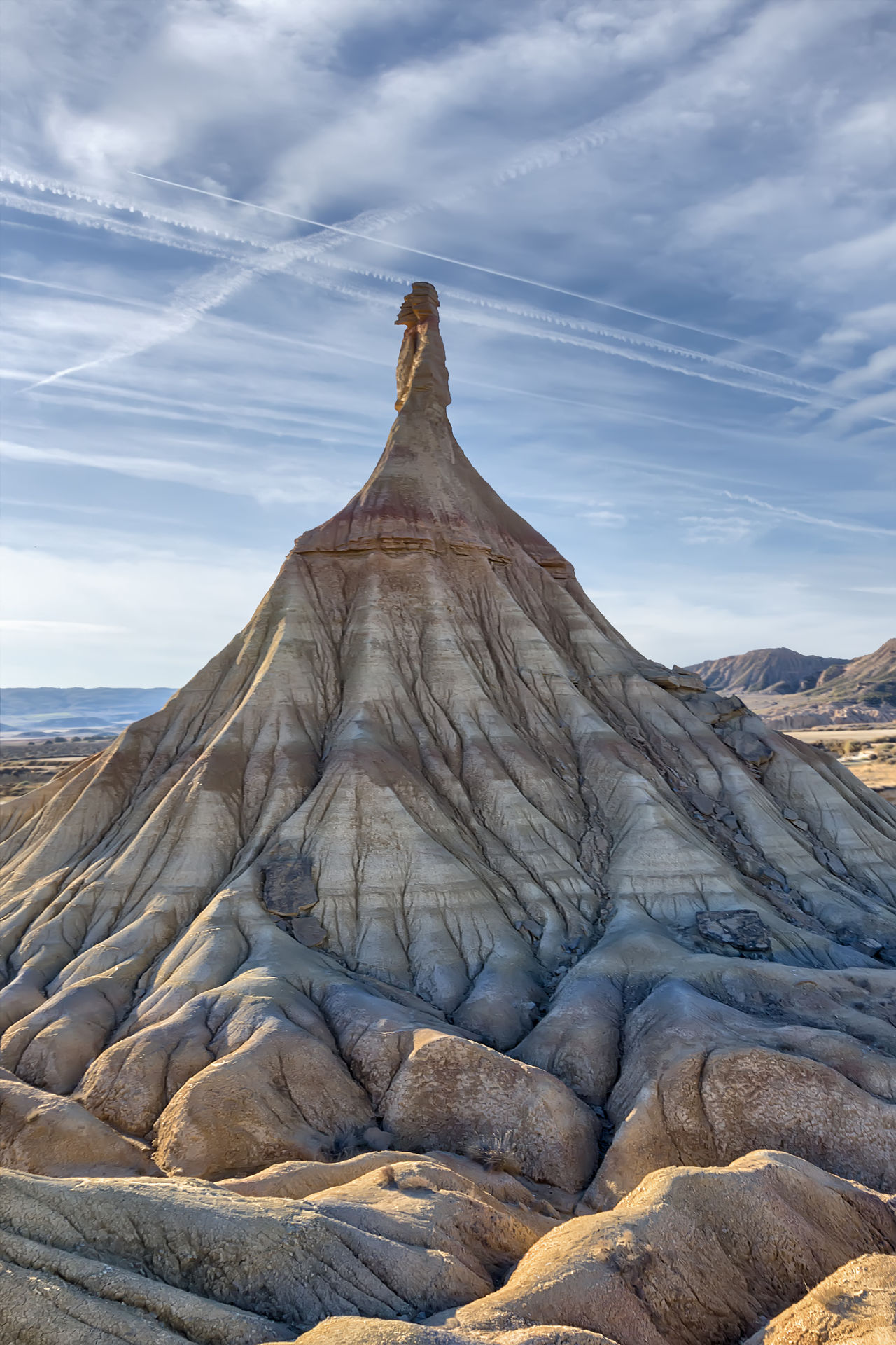 """Held in the natural park of the Bardenas Reales, where a chapter of the series """"Games of thrones"""" Beauty In Nature Cloud - Sky Day Geology Landscape Nature Nature Reserve No People Outdoors"""