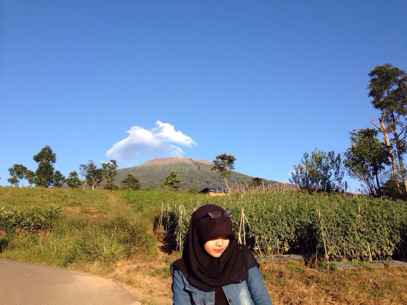 Nofilter NoEditNoFilter Mount.Marapi Goodview IPhoneography Iphonesia Hijabers Hello World Visitindonesia Westsumatera