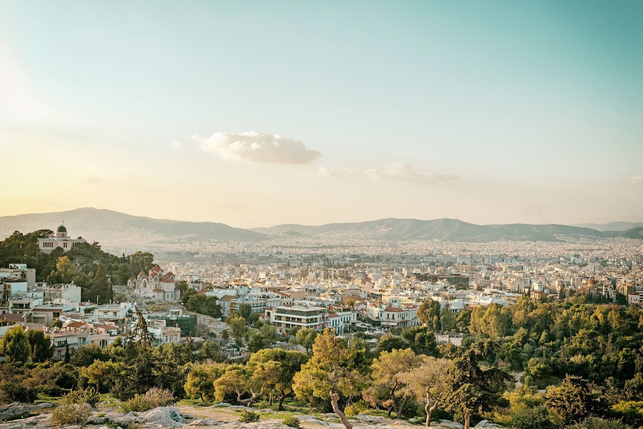 Beautiful stock photos of athens, Architecture, Athens, Building Exterior, Built Structure