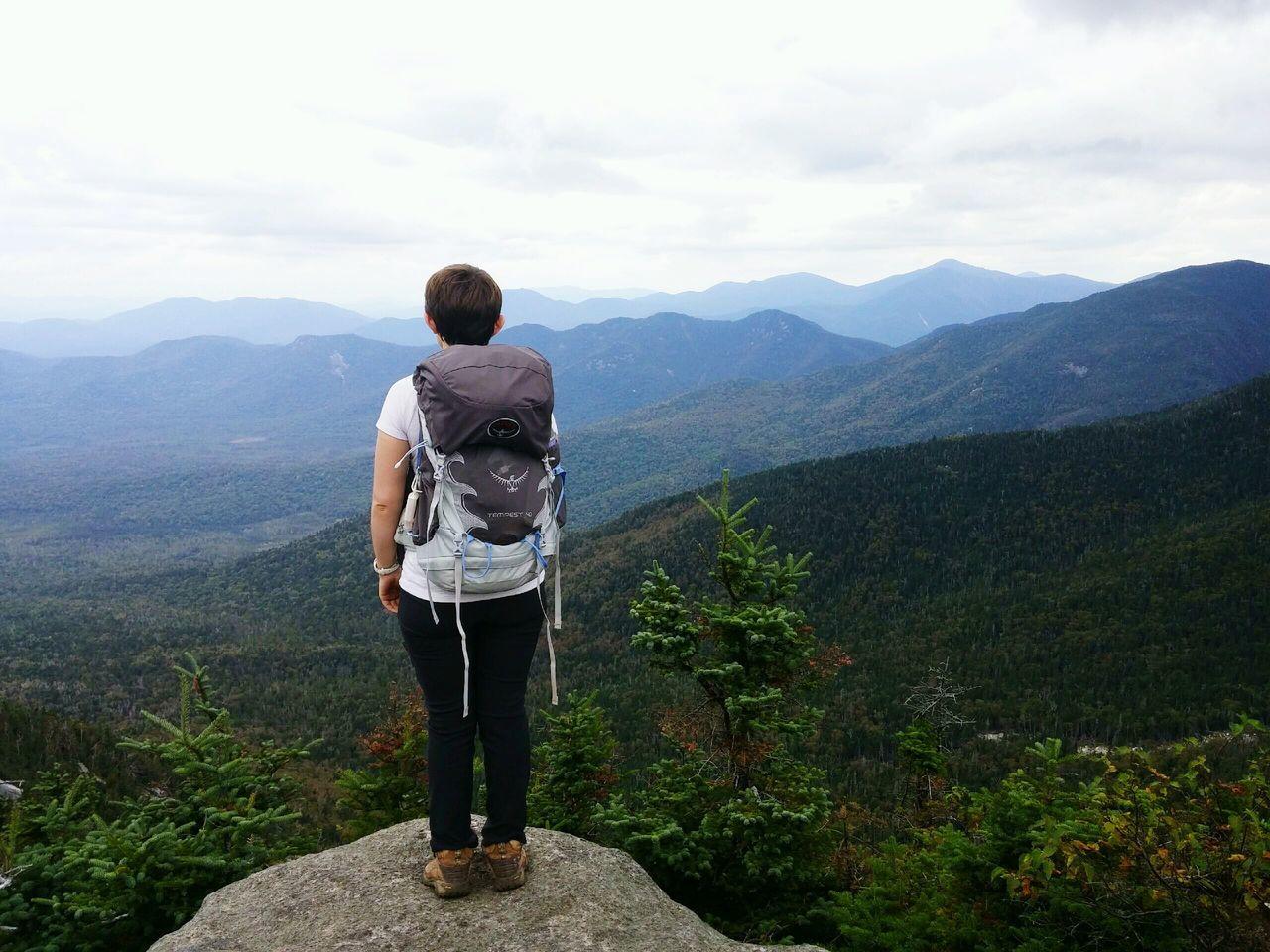 View from Hough Peak ADK Highpeak Adklife Beautiful Nature Explore Female Hiker Backpacking Ilovenewyork Upstateny Mountainsarecalling Adrenaline Junkie