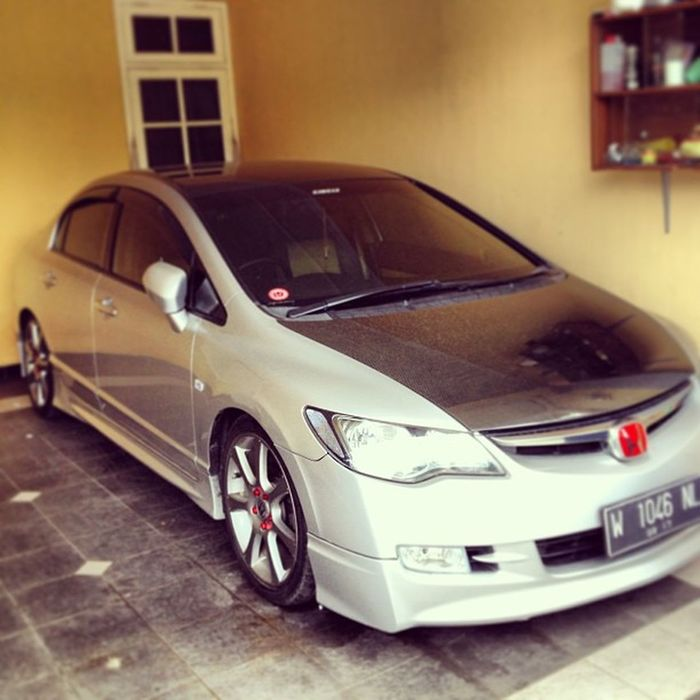 "My Civic FD with Mugen bodykit and Enkei 18"" OEM Oddysey 2008 Hondacivic Fd1"