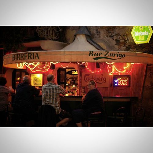 Rcnocrop Pentax K50 50mm Italy Italia Mare Sea Bar Night Light People Photograph Photographer Red Laigueglia Liguria