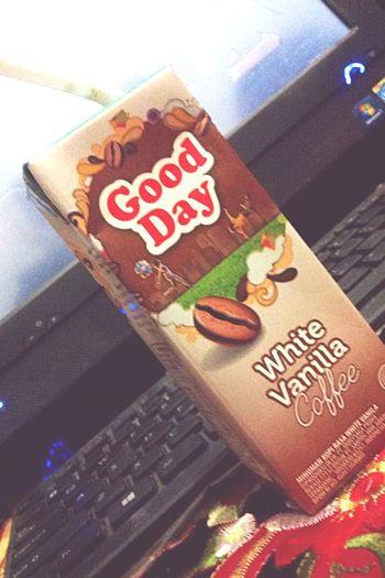 Goodday Coffee Day Enjoying Life