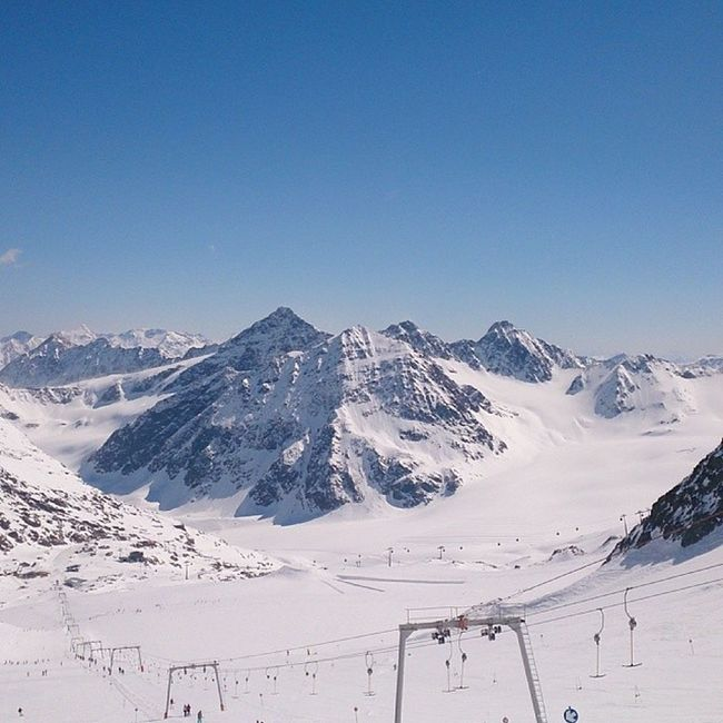 Scheiß auf Warmes Wetter Skifahren is eh Geiler Pitztal