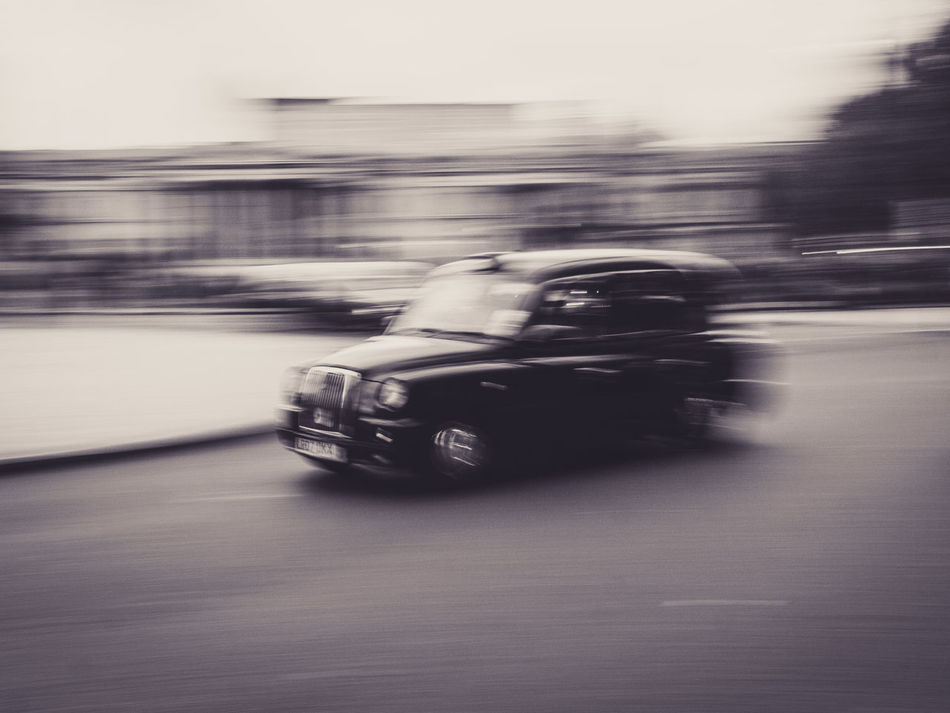 Capturing Motion Transportation Car Taxicab