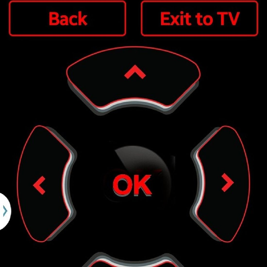 I promise, I'm lazy. I couldn't find the remote, so I just put it on my phone. UVerse