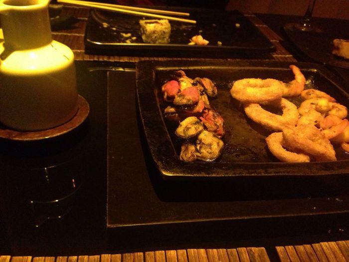 Sushi Frutos Do Mar Night Food
