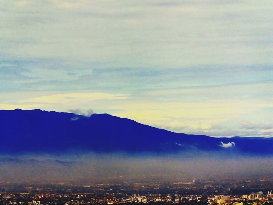 Mountain Cloud - Sky Beauty In Nature Outdoors Cityscape