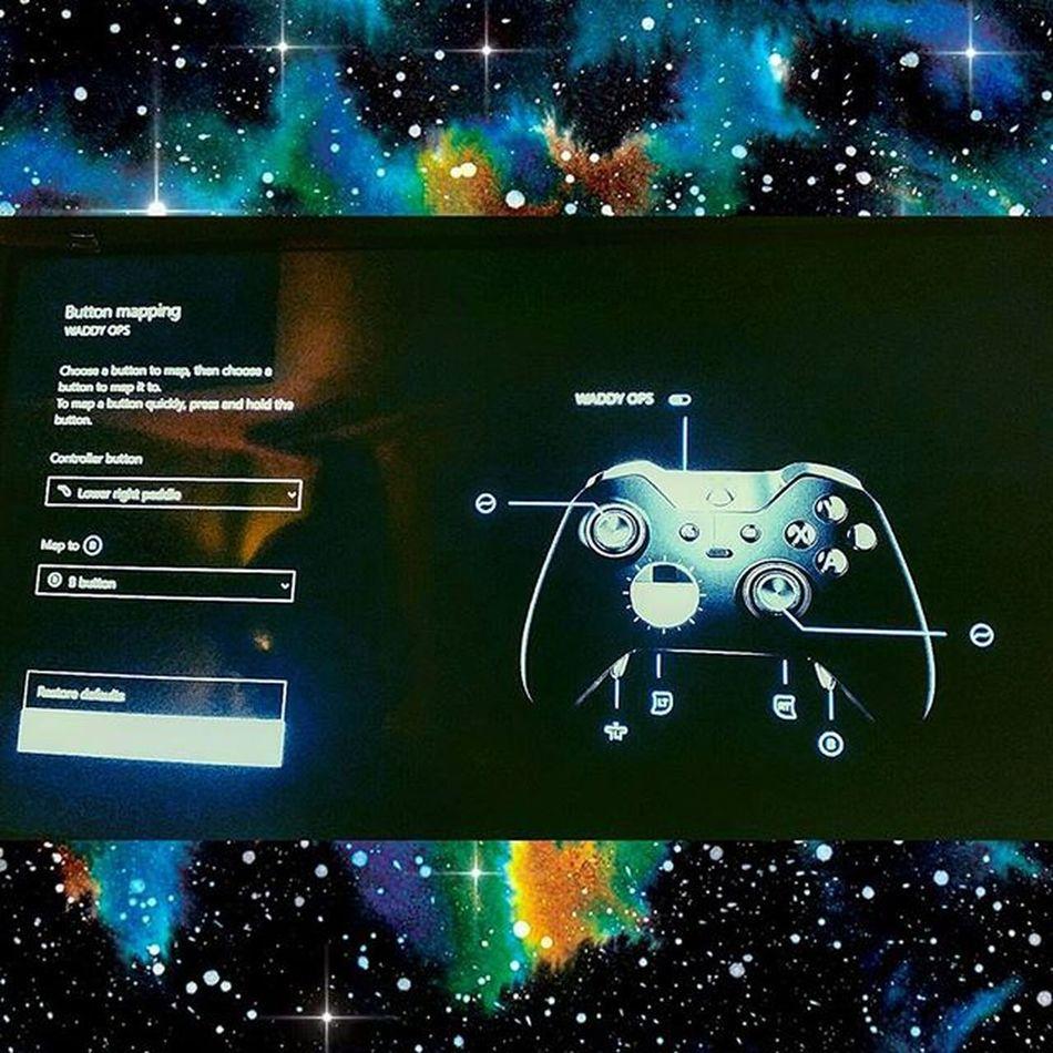 Button mapping with the elite controller XboxOne CallOfDuty Blackops3 Capturetheflag Elitecontroller Xboxelitecontroller Videogames