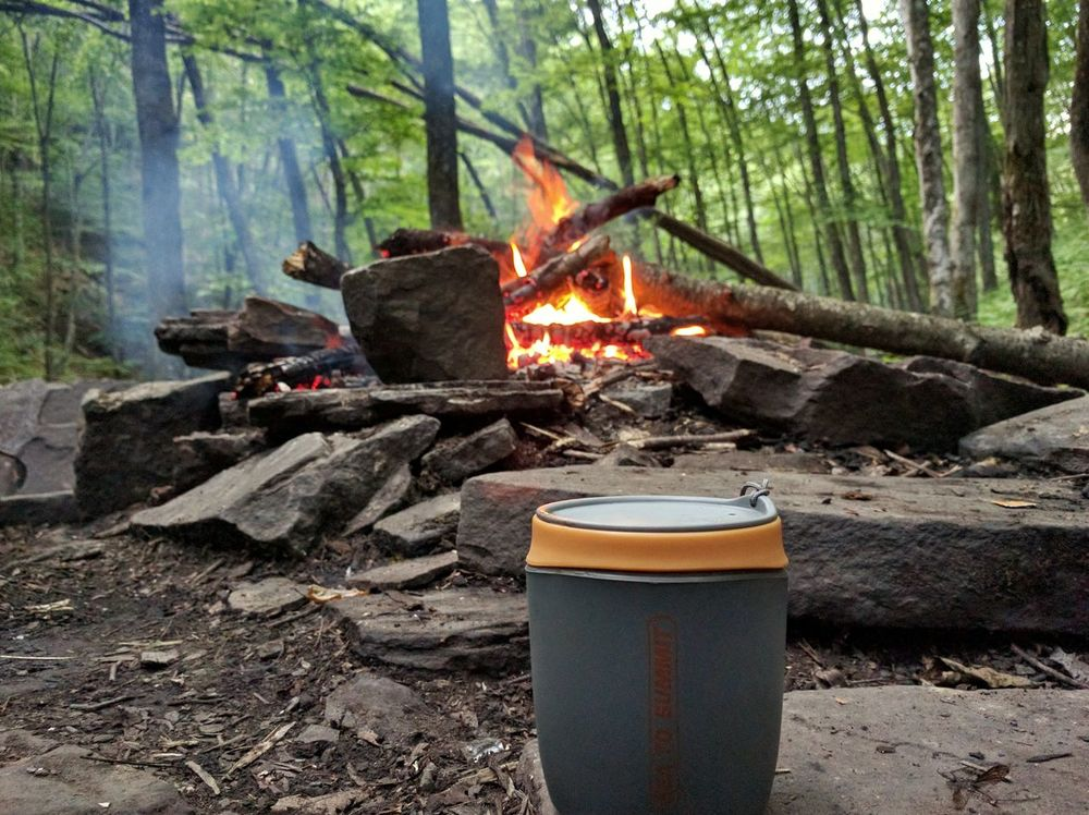 Early morning Java Taking Photos Relaxing Enjoying Life Camping Hiking Forest Photography Westvirginia Outdoors Nature Optoutside Fire Campfire