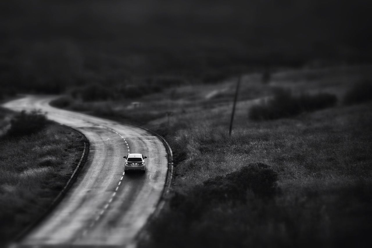 On The Road Mountain Road Hairpin Turns Nightly Drive Car Driving Black And White Photography At Night MeinAutomoment Car Petrol Head Gear Head Travel Roadtrip Road Trip Car Ride