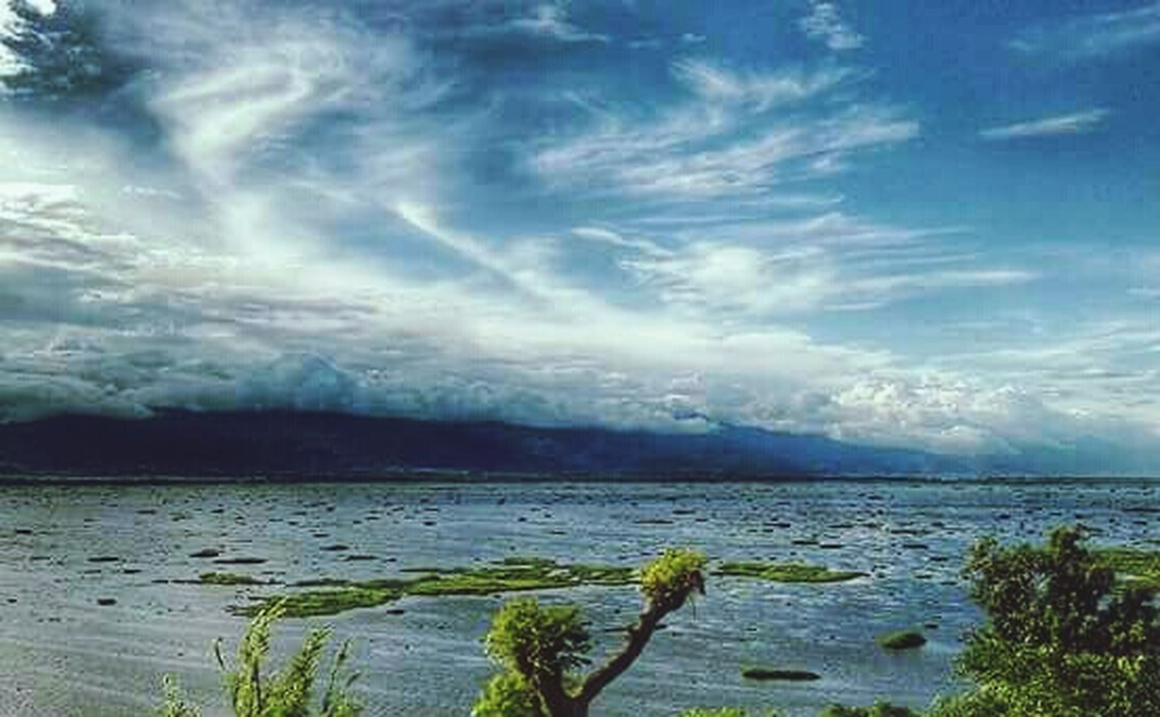 cloud - sky, sky, sea, nature, scenics, outdoors, beauty in nature, no people, water, beach, horizon over water, landscape, day, tranquility, horizon, blue, city