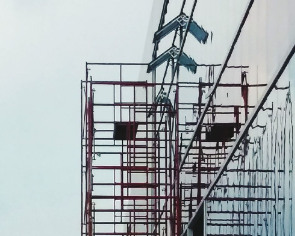 Business Finance And Industry Architecture Built Structure Industry Steps And Staircases Construction Site No People Day Building Exterior Working Outdoors Sky