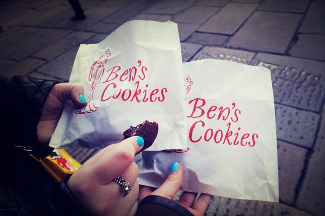 Covent Gardens , bens Cookies never judge a cookie by its cover. Toke this when I went to London with my friend to go shopping and London eye
