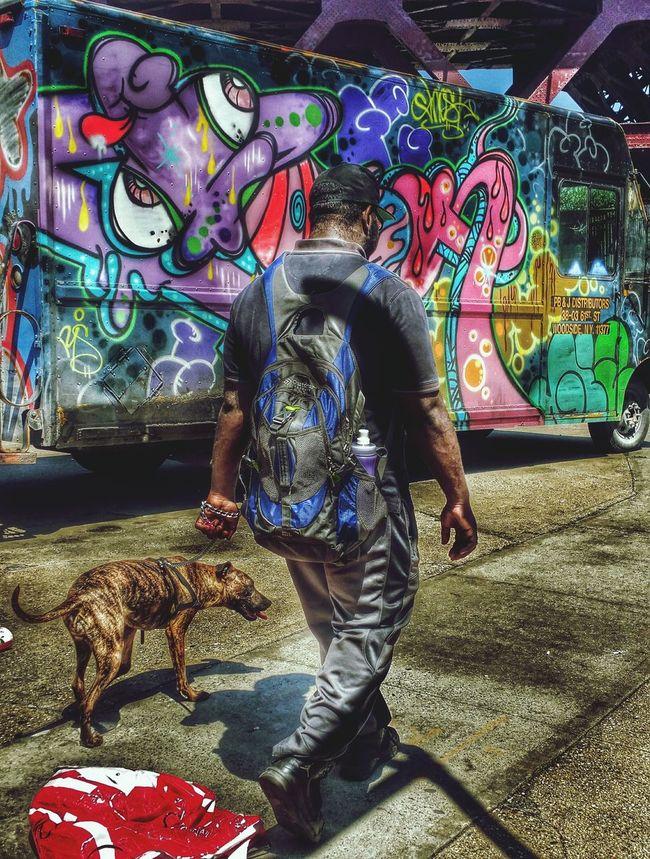 Walking Dottie Hanging Out Graffiti Tadaa Community WeAreJuxt.com Eye4photography  Hello World Urbanphotography