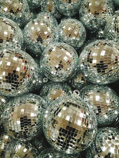Crystal balls for special occasion Crystal Balls Christmas Birthdays Full Frame Pattern Day