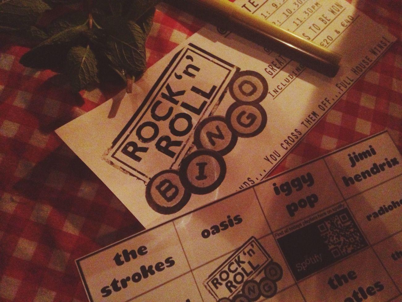Rock'n'Roll Bingo