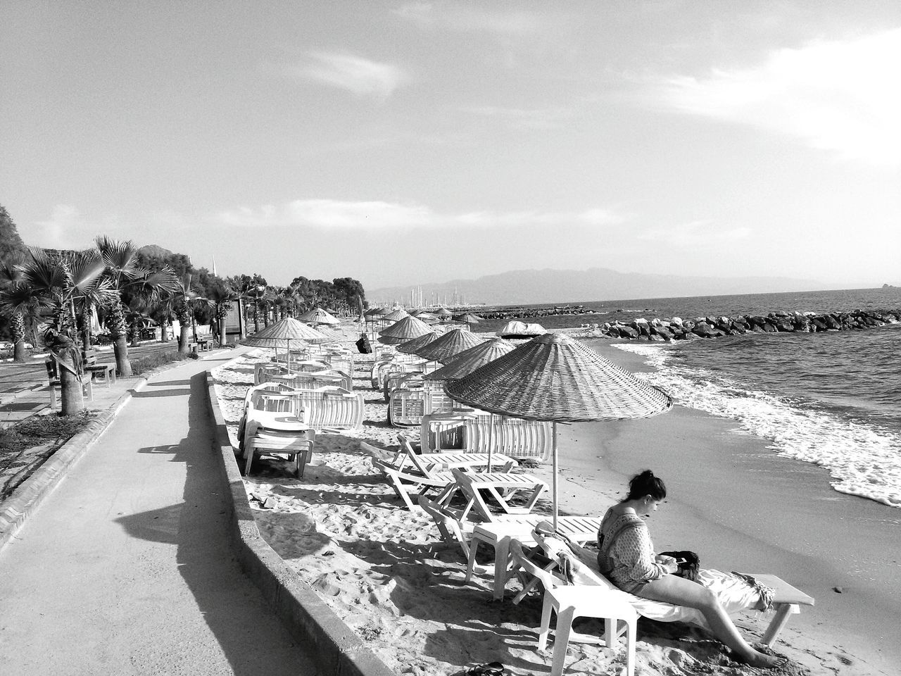 Eyem Türkiye Bodrum Turgutreis Shades Of Grey Summer Views Seaside Samsungphotography S Mini Beachphotography