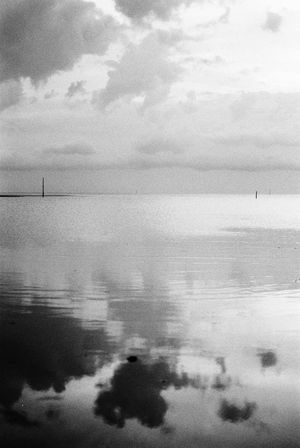 NikonFE2 Neopan400 Beach Water Reflections