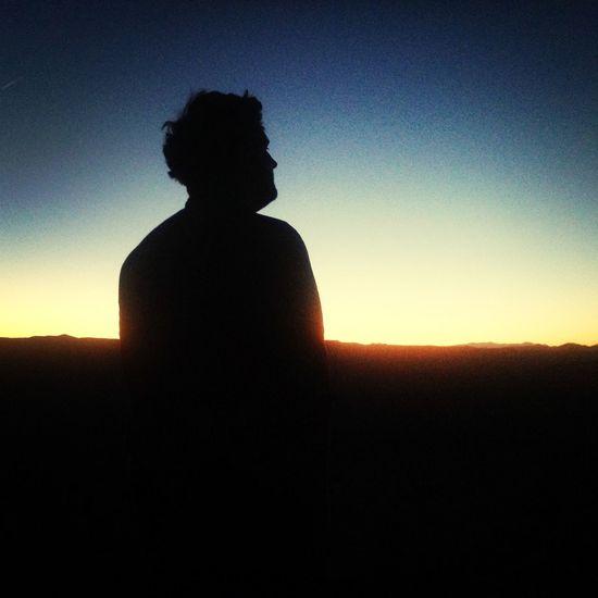 Sunset Silhouette Colors Landscape