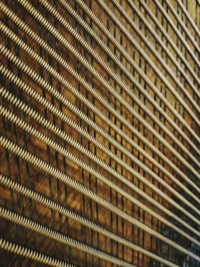 Full Frame Backgrounds Pattern No People Close-up Indoors  Day Piano Strings Lines Grid Patterns Coil Strings Of Music Patterns & Textures Strings Copper  Metal Industry