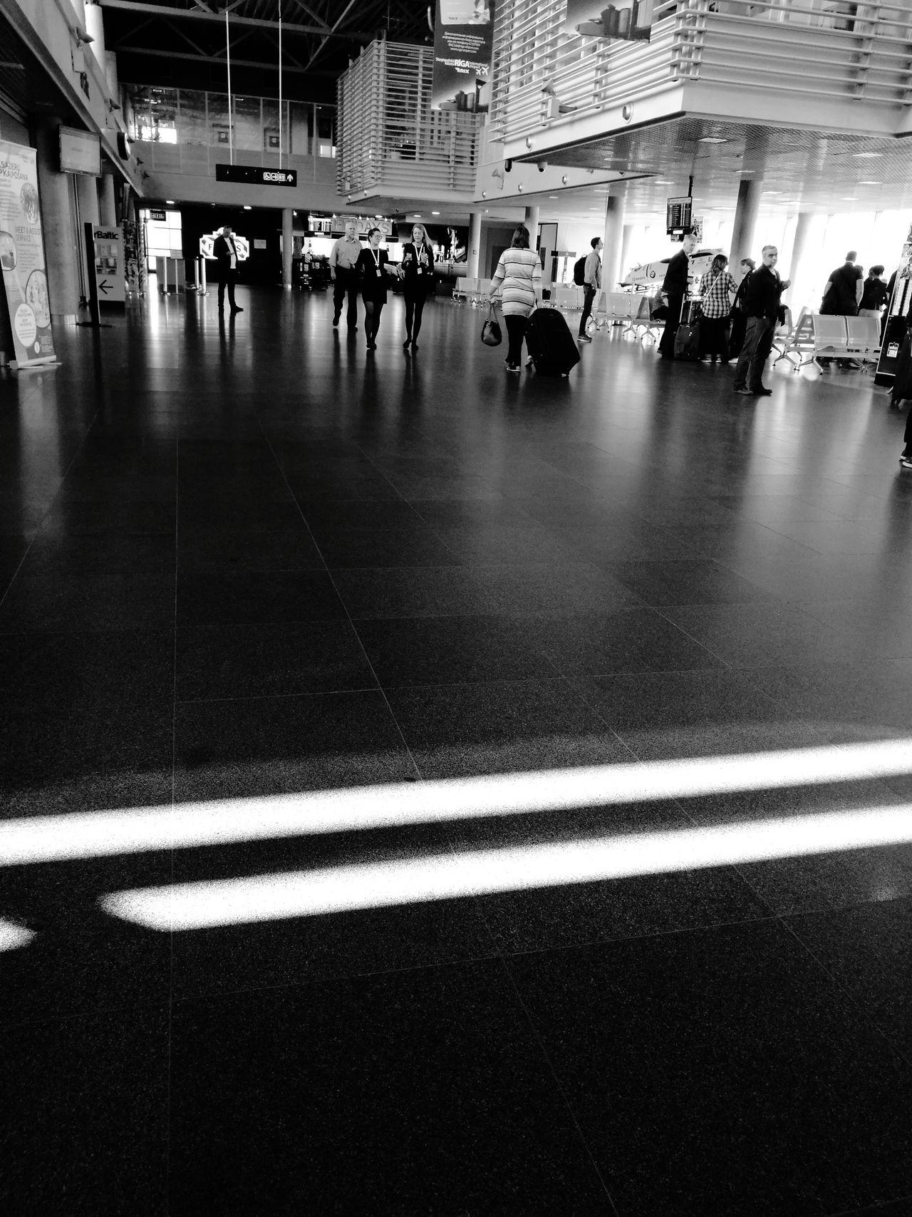 Black&white Airport Riga