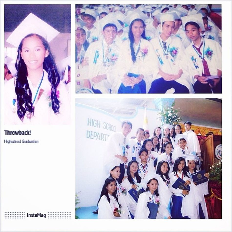 Hahaha!!! Throwback ulit!!!! Dahil March na!!! 😁😁😁 ❤❤❤❤❤ Highschool Graduation Iccbalayan Throwback