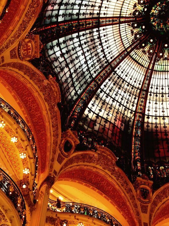 Galeries Lafayette Check This Out Hanging Out First Eyeem Photo