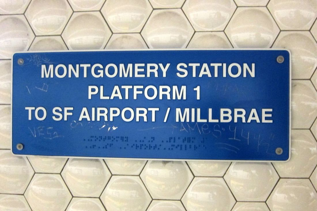 …it's been a while riding @SFbart! Here we go towards #SFO!