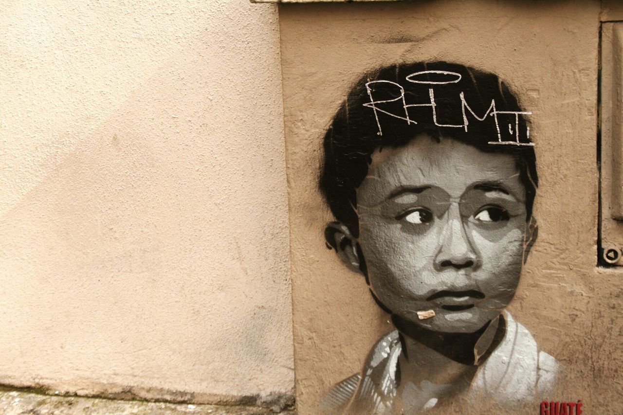 Paris France Streetart Wall Art Children_collection Lamdscapes With Whitewall