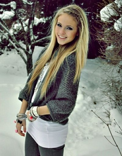 me in the winter..I was on a commerical for Aeropostale I think yea