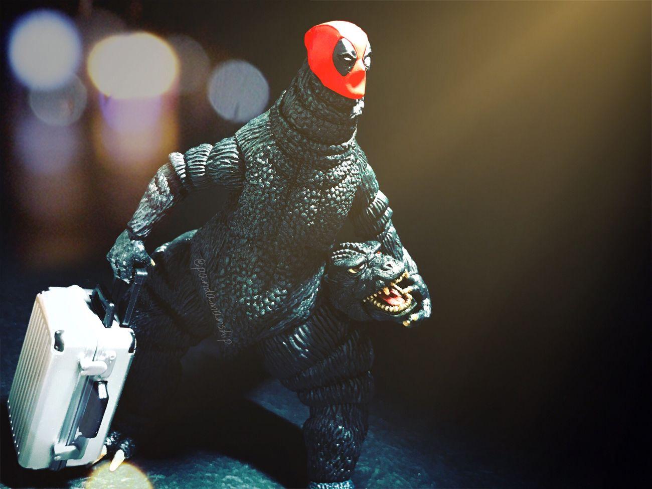 Going Legendary or Toho? Deadpool Godzilla Kaiju Gojira Monster Toyark Toyartistry Figurefie