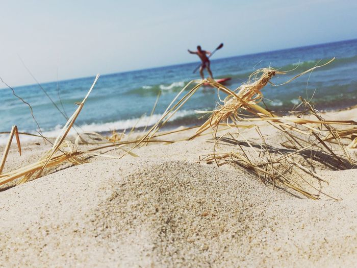 Sea Beach Nature Sand Water Horizon Over Water Outdoors Beauty In Nature Day Jamie Brown Nora Brown Surf Lake Michigan Nora Took This Picture Scenics One Person Nora took this picture of me at Lake Michigan this summer. She wanted me to post it.