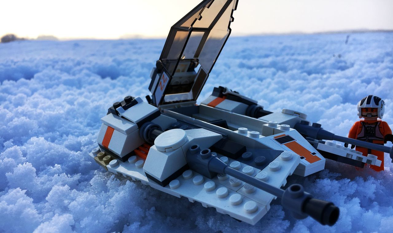 Close-up LEGO Legophotography No People Outdoors Rebel Alliance Snow Snowspeeder Starwars Winter