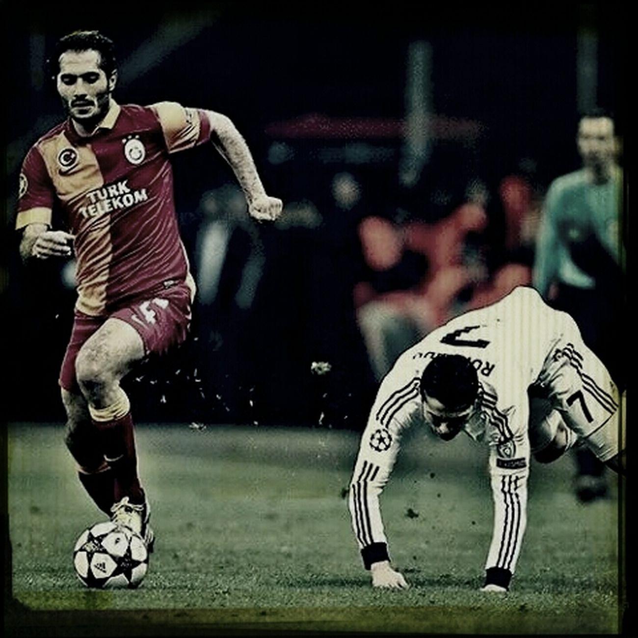Ronaldo GalataSaray Hamit Championsleague