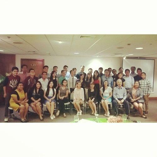 """Graduation"" of AYLC Batch 15. Welcome to the Ayala Young Leaders Alumni Association! BestSHINDIGever BahagsubayReunited"