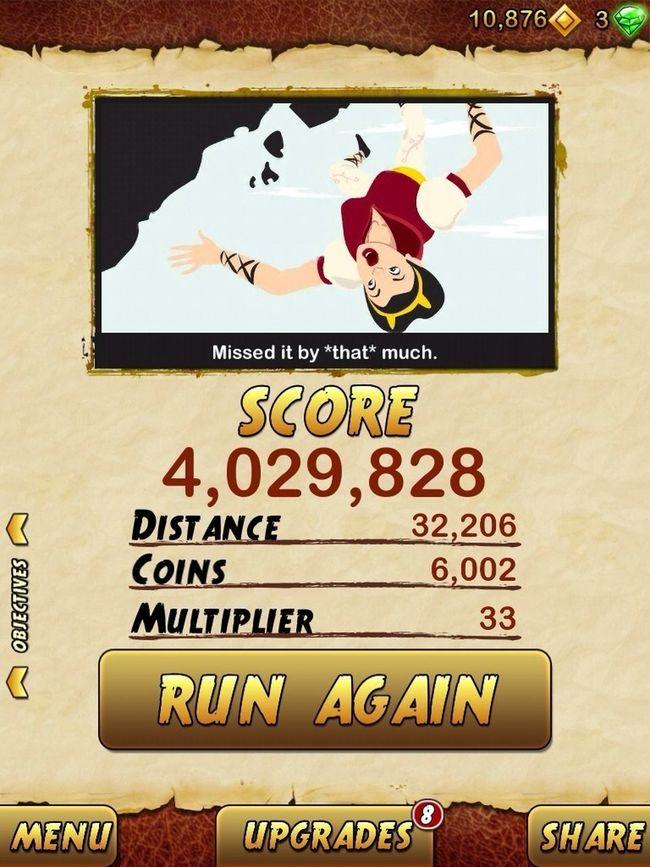 ayye new score tho :)