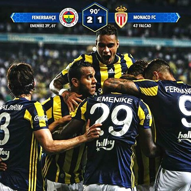 Fenerbahce vs Monaco Football Turkey Emenike Sarılacivert ⚽⚽🇹🇷 Adventure Club