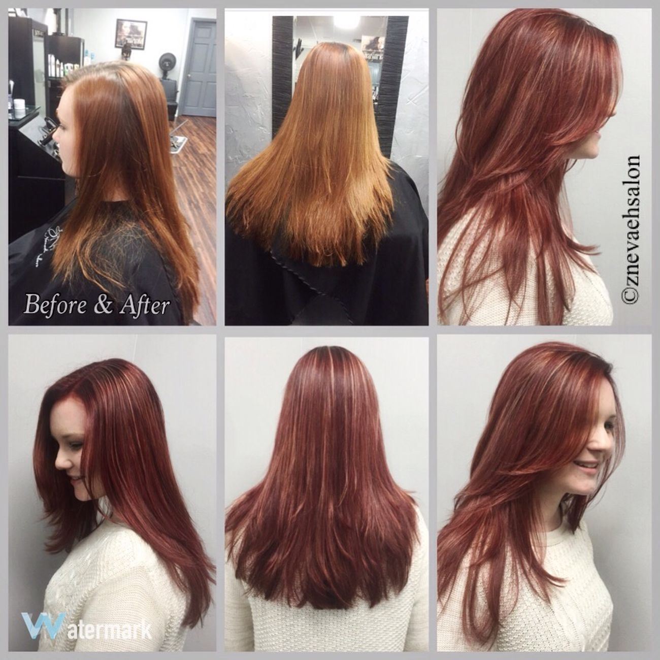 New Fall Red Color @znevaehsalon @lorealprous Check This Out Hair Eye4photography # Photooftheday L'Oreal Professionnel Z Nevaeh Salon Hairstyle Haircolor RedHAIR ❤ Knoxvillesalon Tecni.art