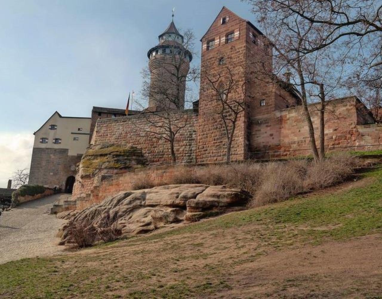 Nuremberg's castle in (pre)spring Nuremberg Nürnberg Kaiserburg Spring Bavaria Bayern Germany Itbberlin Itbberlin2016 Samsungnx300