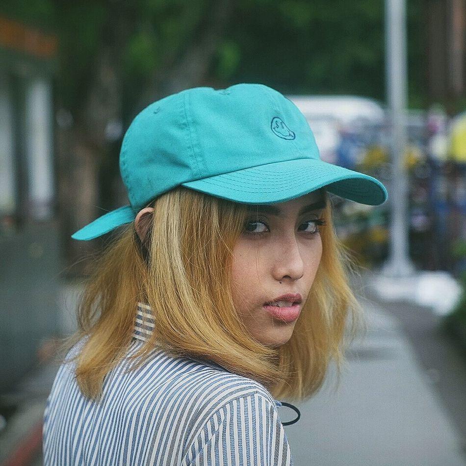 Close-up Girl Hypebeastxvsco Cap Knit Hat Only Women Baseball Cap