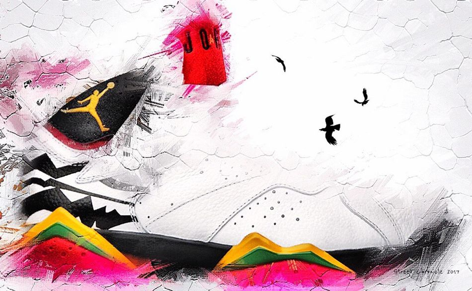 Flying Bird No People Watercolor Painting Day Outdoors Jordan Sneakers Kicks Shoes Photooftheday Art, Drawing, Creativity Arts Culture And Entertainment Photographer Lifestyles Artistic Fashion Art Gallery Sports Photography Sports Jordans Artist NYC Style Creativity