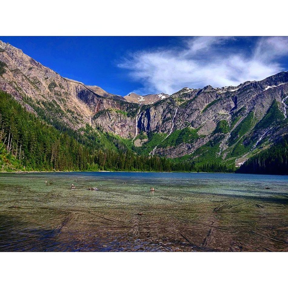 Avalanche Lake, Glacier National Park Glaciernps @glaciernps Glacier Nationalpark Hiking Lake Glacial Glaciallake Snowmelt Nps Travel Landscape Scenic Golivexplore