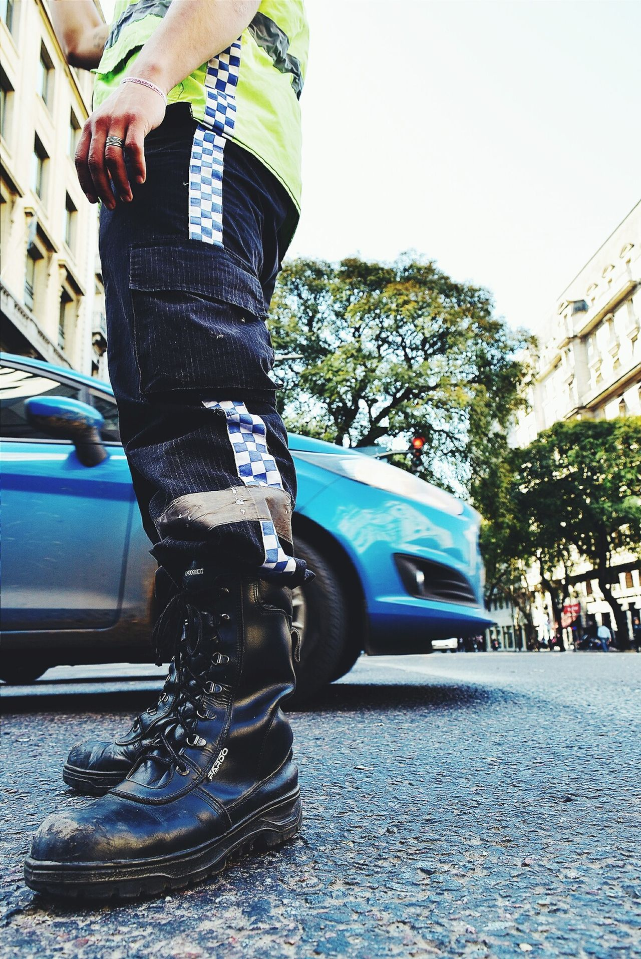 City Life Close-up NikonD5500 TakeoverContrast TheWeekOnEyeEM Bokeh Photography City Life Urbanphotography Nikon City Street Streetphotography Policeman Police At Work Police Boots Traffic Police  Traffic Jam Traffic Control