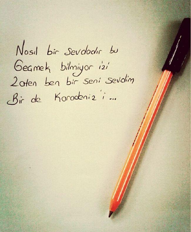 Ben Bir Seni Sevdim Bir De Karadenizi Sevdim 🎈👻