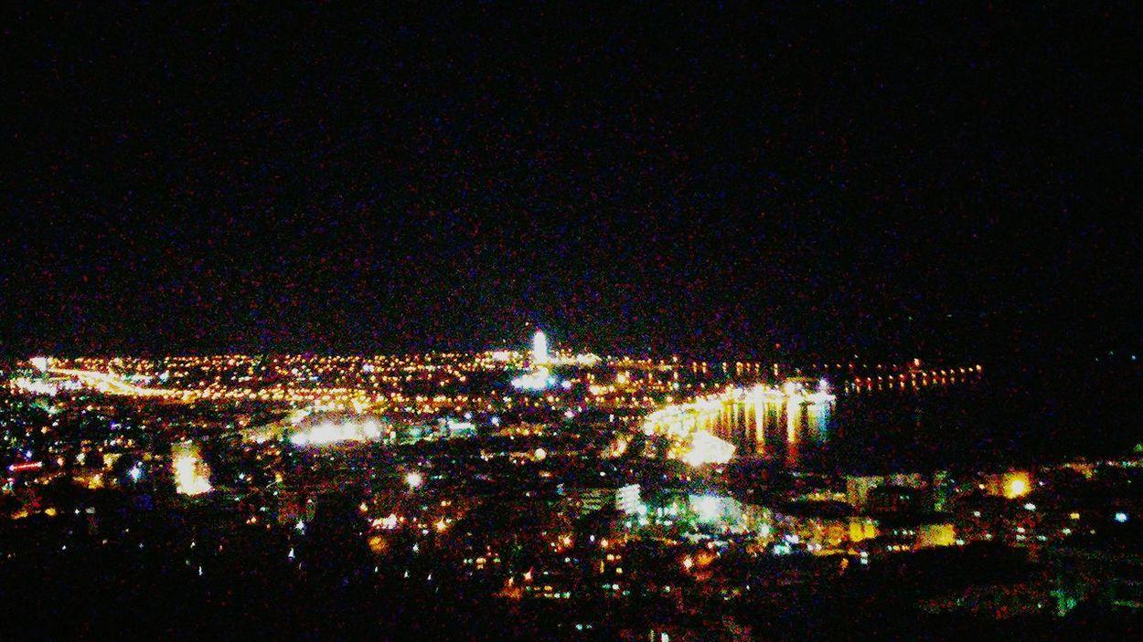 Izmir Izmirlife Night şehrinışıkları