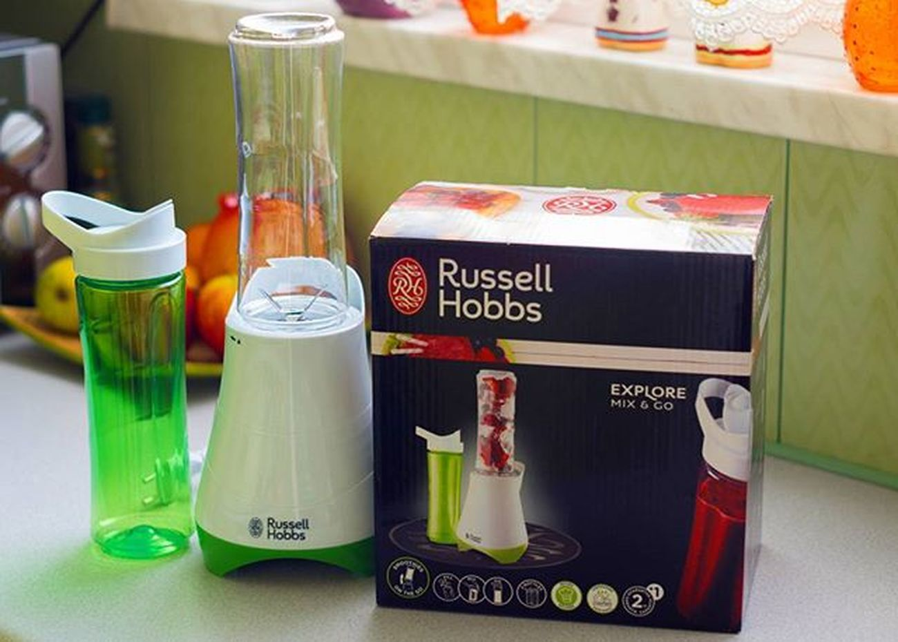 Będą koktajle!Testuje☺ Nowość New Russell Hobbs Russellhobbs Blender Smoothie Koktajl Shake Coctail Shaker Kitchen Kuchnia Testuje Owoce Fruits Warzywa Vegetables Home Homesweethome Tesco  Zakupy Shopping Healthy Drink instadrinkpolishgirllikeforlikel4lf4f