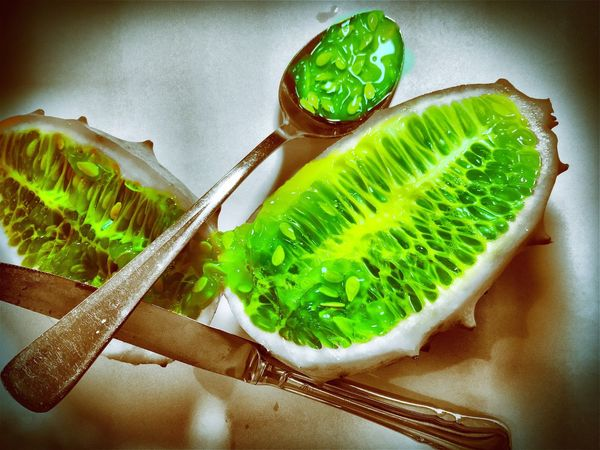 Food And Drink Green Color Food Indoors  Leaf Freshness High Angle View Table Close-up Green Indulgence No People Ready-to-eat Appetizer